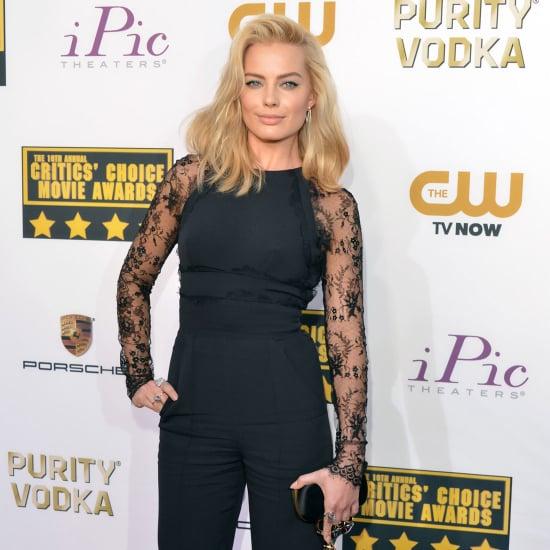 Margot Robbie's Dress at Critics' Choice Awards 2014