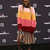 Amber Grimes at Instagram's 2020 Grammy Luncheon in LA