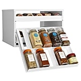YouCopia Chef's Edition SpiceStack 30-Bottle Spice Organiser with Universal Drawers