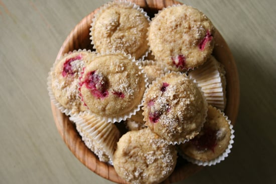 Cranberry Almond Minimuffins