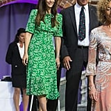 Princess Sofia Green L.K. Bennett Dress