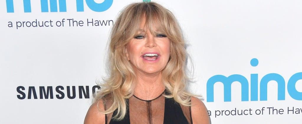 Goldie Hawn Dancing Instagram Video November 2017
