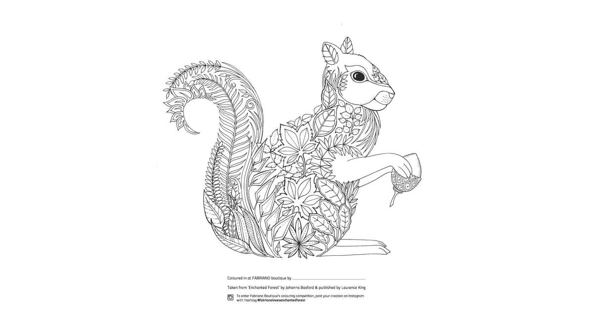 Enchanted Forest Squirrel
