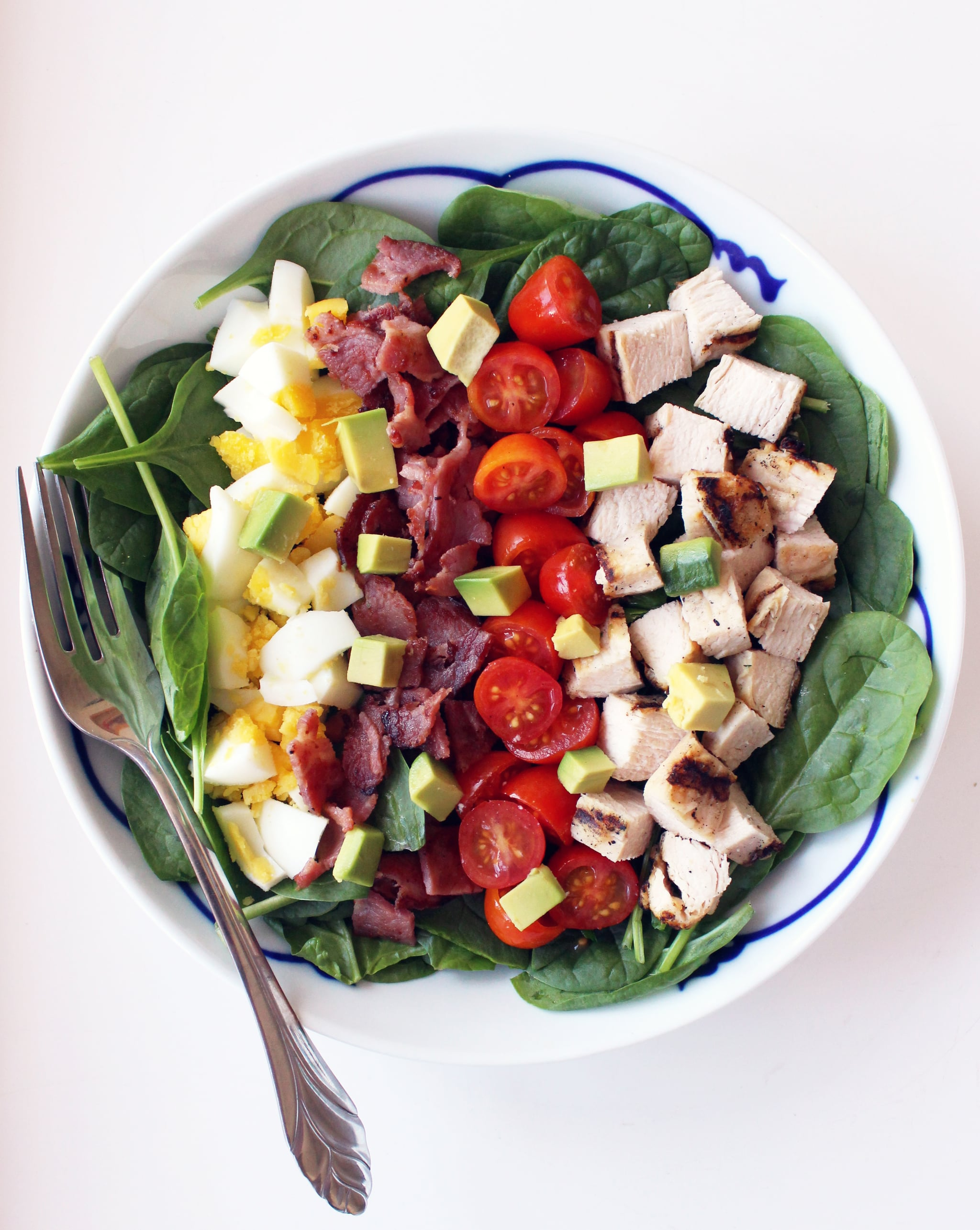 Healthy Cobb Salad Popsugar Fitness