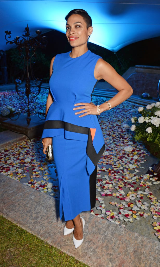 Rosario Dawson at Puerto Azul Experience Night
