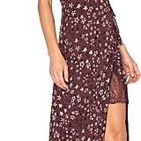 Have a major street style moment in this burgundy House Of Harlow x Revolve Edie Dress ($190) that features a side slit.