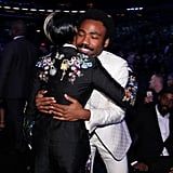 Pictured: Janelle Monae and Childish Gambino