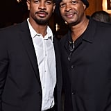Damon Wayans Jr. and his dad, Damon Wayans, attended the afterparty for the Big Hero 6 premiere in LA on Tuesday.