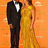 JAY-Z and Beyoncé at The Lion King Premiere