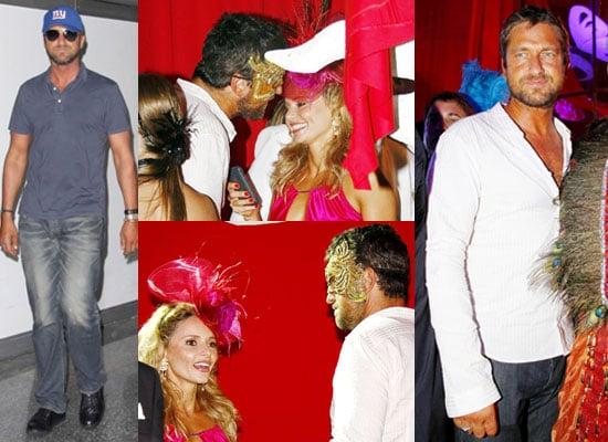 Photos of Gerard Butler Flirting
