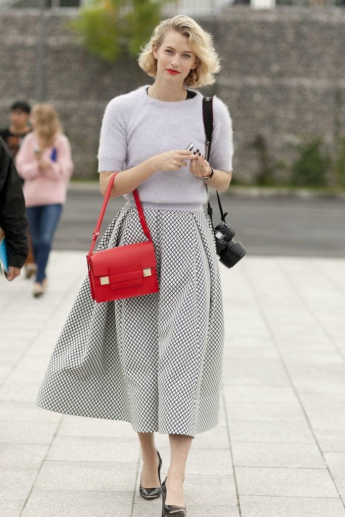 A Long Skirt