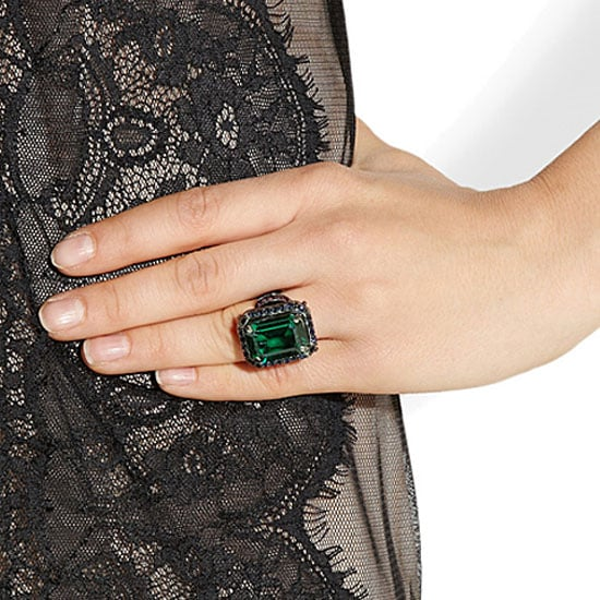 view w and rings hover jewellery emerald ring by gautam to banerjee cocktail zoom diamond purity in y