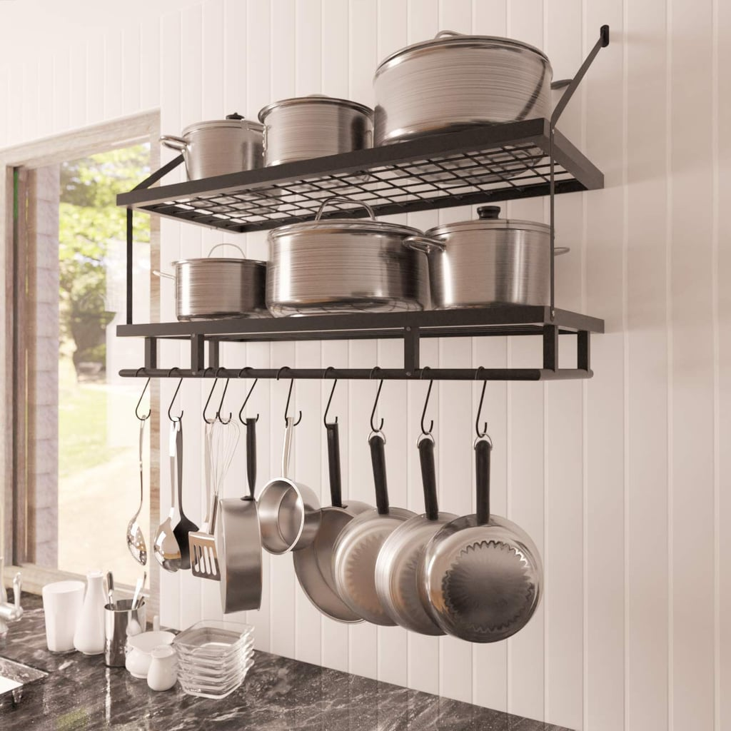 KES Kitchen Pan Pot Rack Wall   Kitchen Products For Small ...
