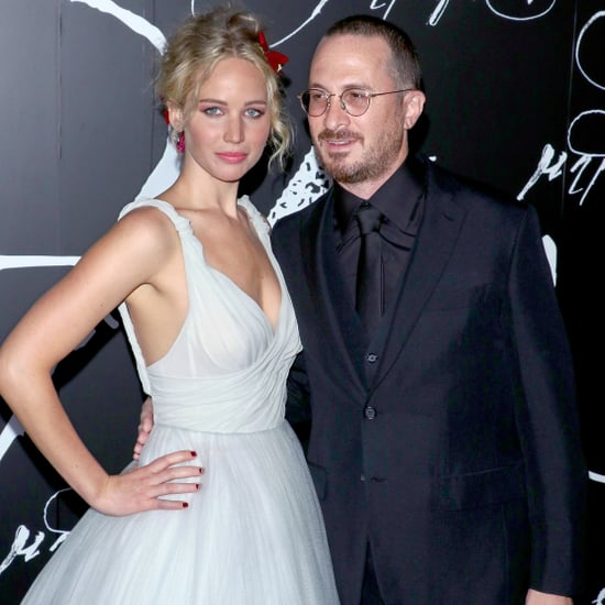 Jennifer Lawrence and Darren Aronofsky Mother NYC Premiere