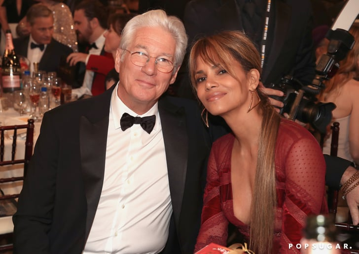 Pictured Richard Gere And Halle Berry Best Golden