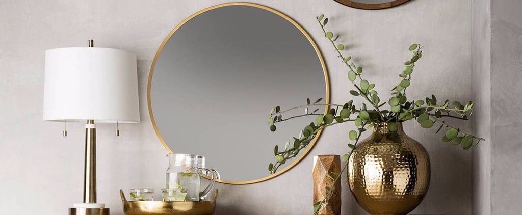 We Found the Perfect Round Brass Mirror — For Crazy-Cheap!