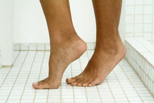 Home Spa Treatment: Salt Foot Scrub