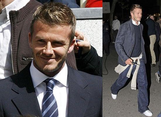 14/4/2009 David Beckham