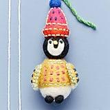 Cosy Penguin Ornament