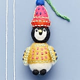Cozy Penguin Ornament