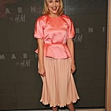 Dianna Agron attended the Marni at H&M Collection Launch at Lloyd Wright's Sowden House in LA.
