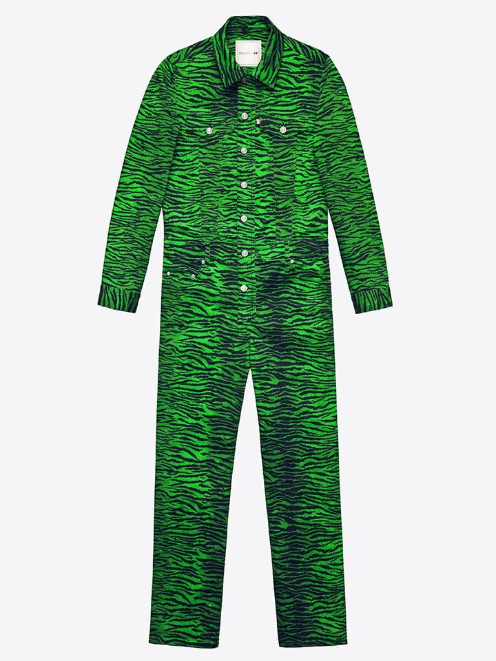 Tiger-Striped Jumpsuit ($129)