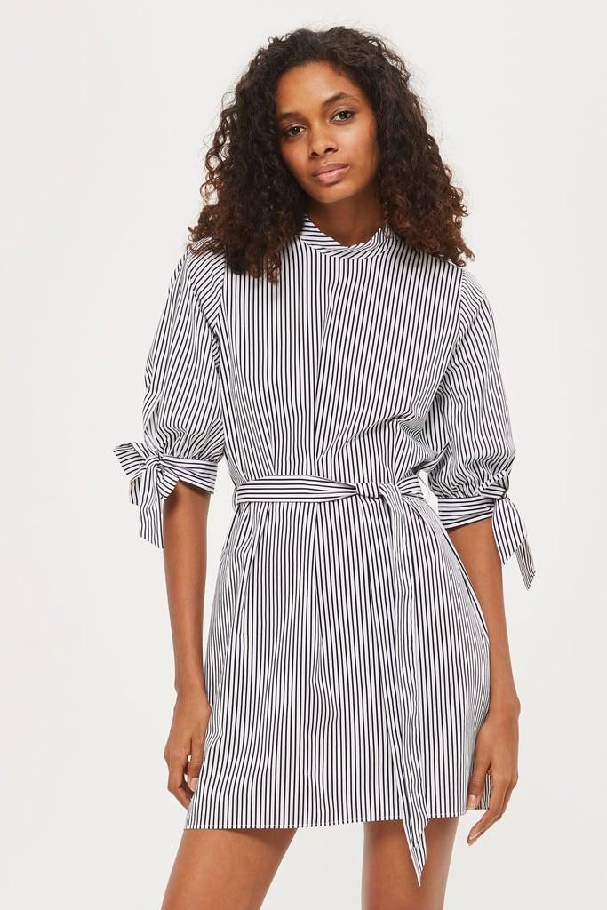 Topshop Poplin Shirt Dress
