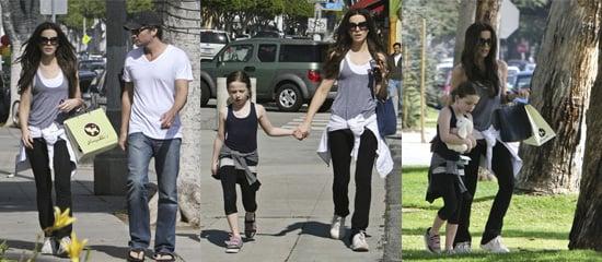 Kate Beckinsale Shops in Sunny Santa Monica