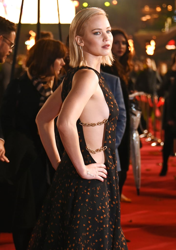 Jennifer Lawrence Dress at Mockingjay Part 2 UK Premiere