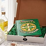 Teenage Mutant Ninja Turtles Cookbook Pizza Box