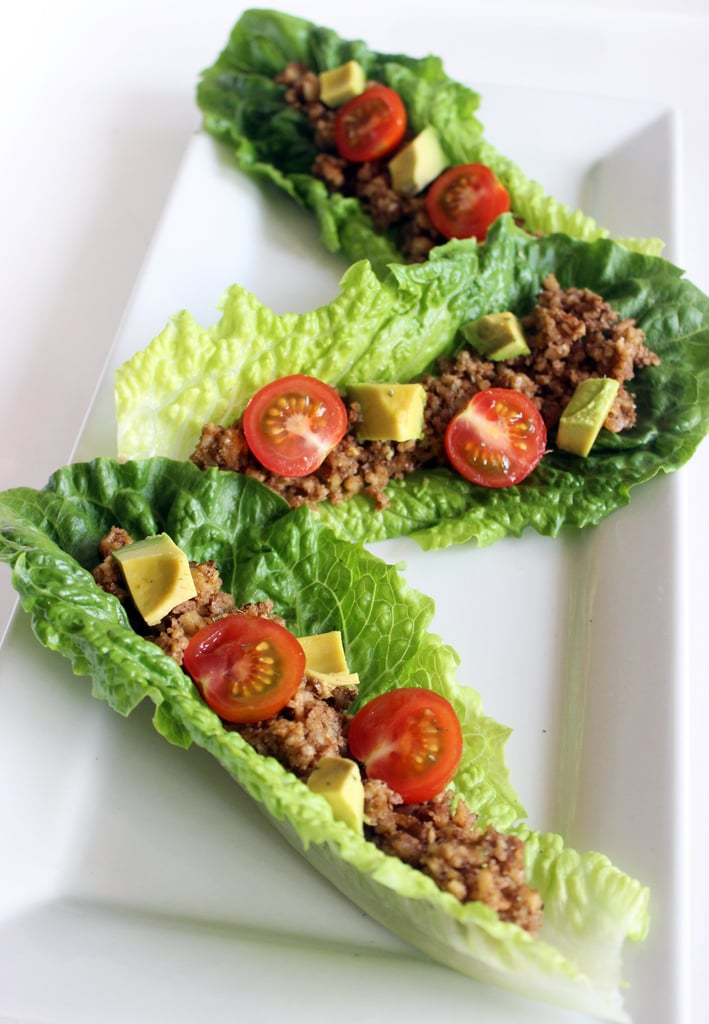 Raw Walnut Tacos