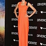 Shailene Woodley in Roksanda Ilincic at the 2014 Divergent Mexico City Premiere