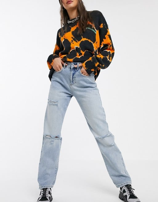 Collusion '90s Fit Straight Leg Jeans
