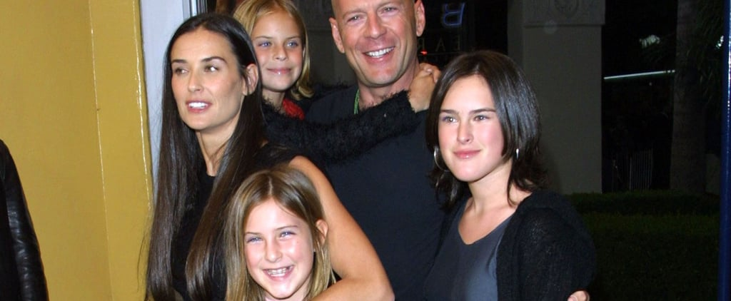Demi Moore and Bruce Willis Family Pictures