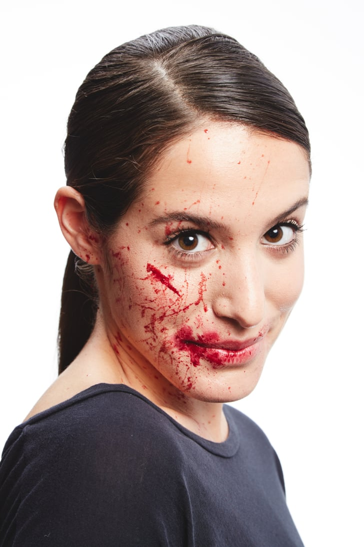 how to get fake blood out of hair