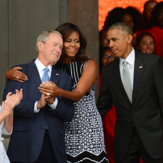 Photos of the Obamas and the Bushes Together