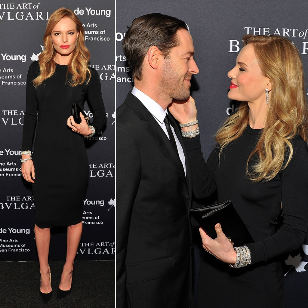 Kate Bosworth and Michael Polish Have a Diamond-Filled Date Night