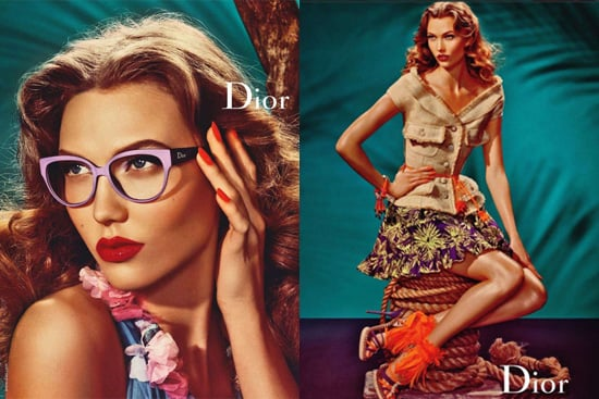 Christian Dior Retro Spring Summer 2011 Campaign Starring Karlie Kloss