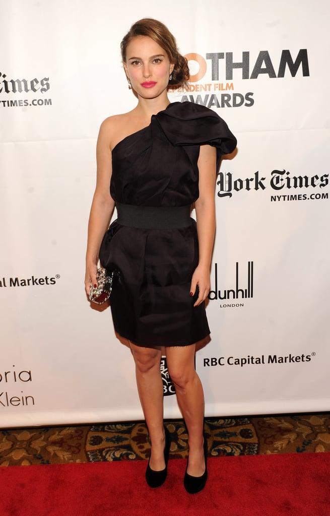 Natalie Portman in Lanvin For H&M at the 2011 Gotham Independent Film Awards