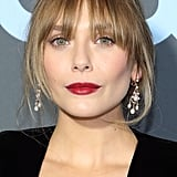 Elizabeth Olsen With Wispy Bangs
