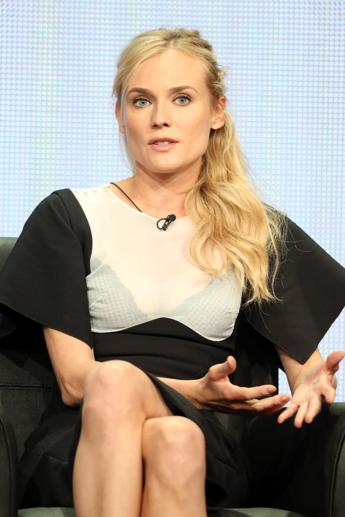 Diane Kruger was at the Summer TCA Press Tour to promote The Bridge.