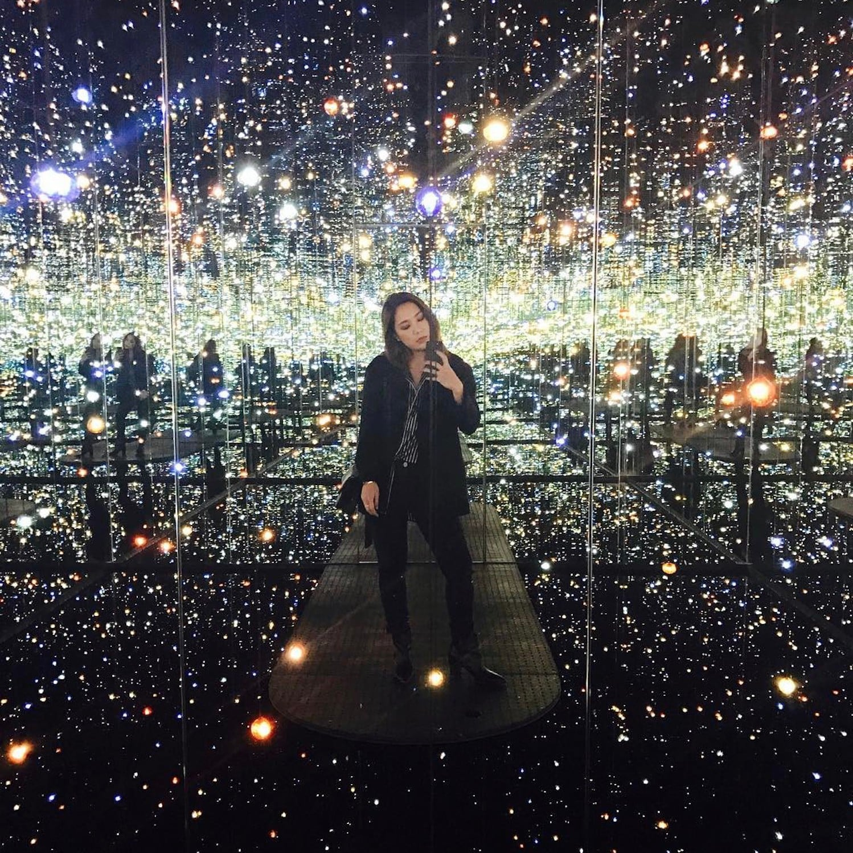 Yayoi Kusama Infinity Room Los Angeles   POPSUGAR Smart Living