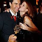 Eric McCormack and Debra Messing; 2001 Emmys