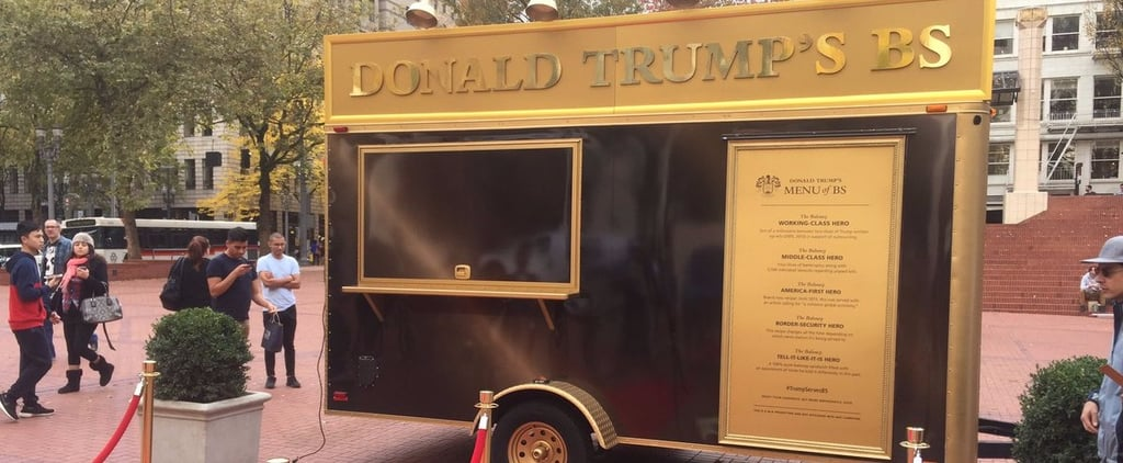 This Donald Trump-Inspired Food Truck Promises to Waste Your Time and Money