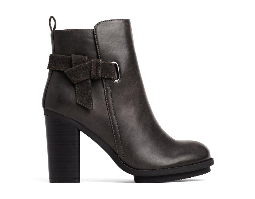 A+ Melody Dark Gray Boots ($45)