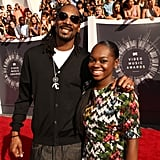 Snoop Dogg and His Daughter Cori