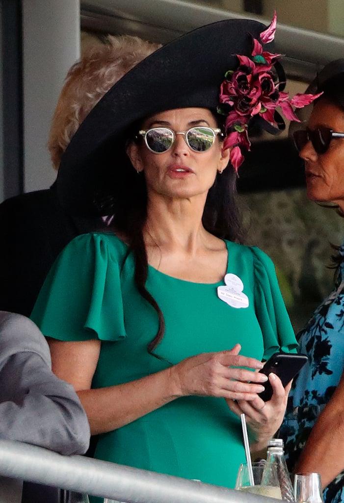 Demi Moore at Royal Ascot