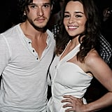 Real talk: Kit and Emilia looked damn good together at Comic-Con in 2011.