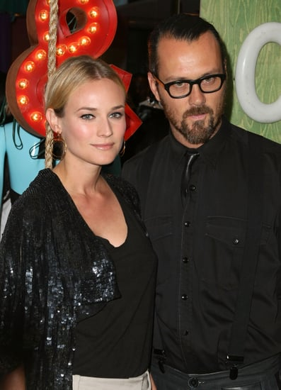 Guess Which Designer Is Standing With Fab Fave Diane Kruger?