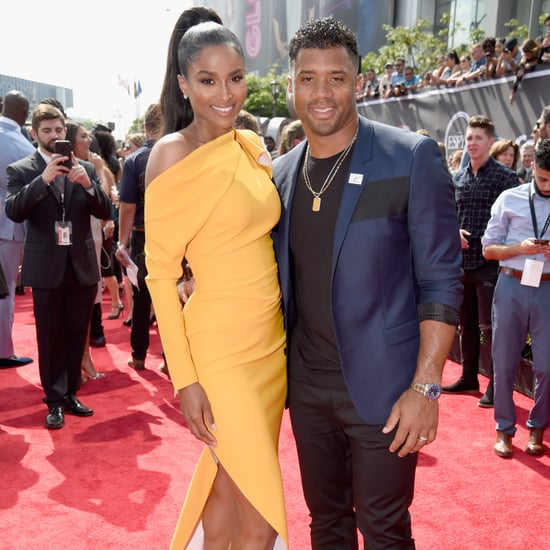 Ciara and Russell Wilson at the 2018 ESPY Awards